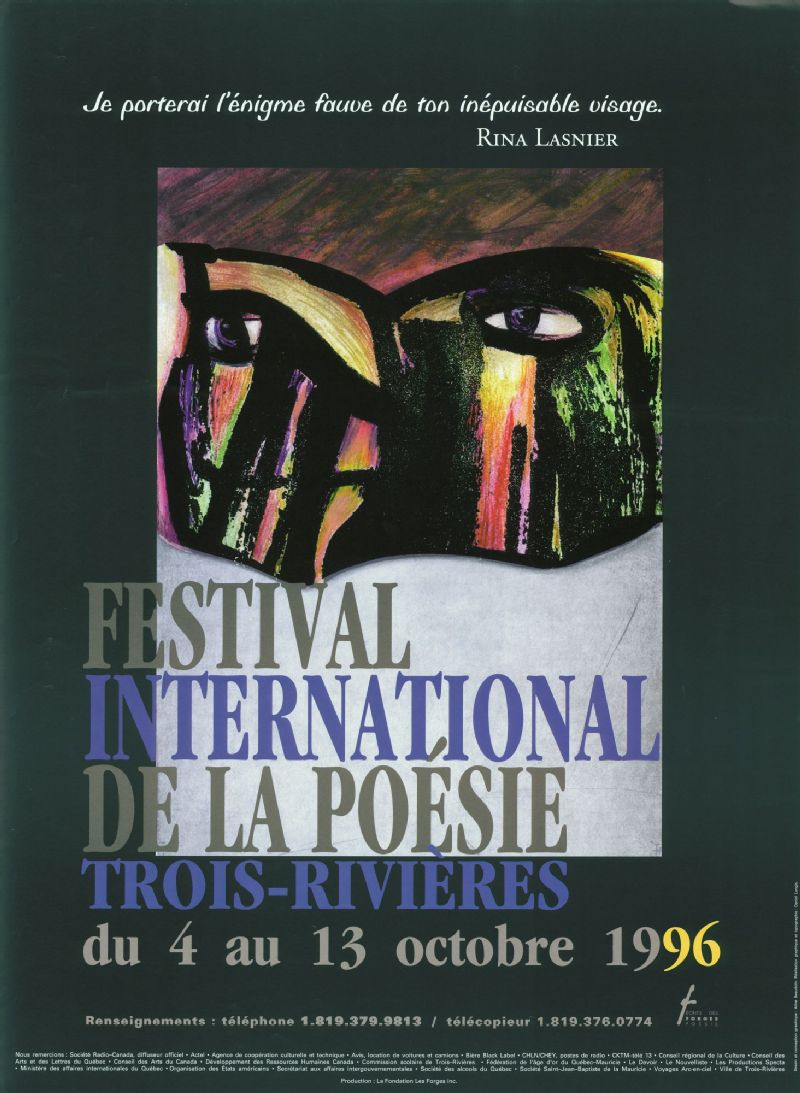Festival International De La Poésie Je Porterai Lénigme
