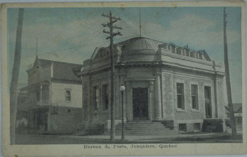 Bureau de poste jonquière québec image fixe banq numérique