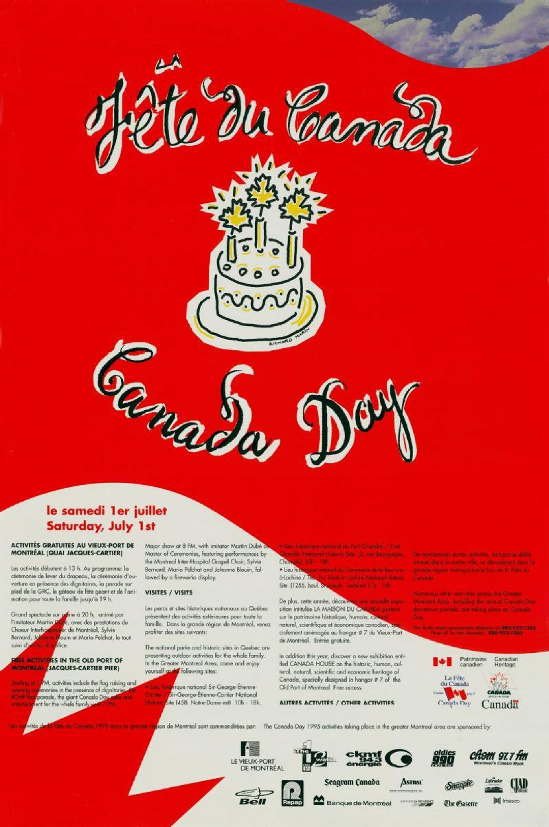 Fête du Canada activités... dans la grande région de Montréal ...