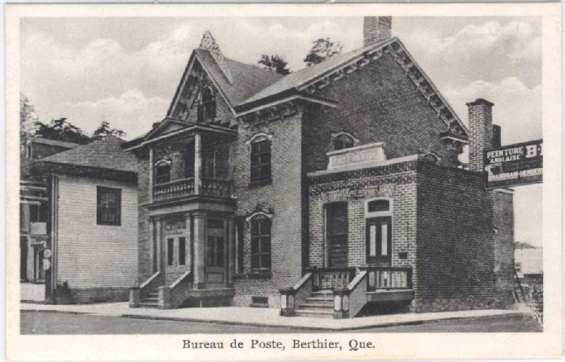 Bureau de poste berthier que image fixe banq numérique