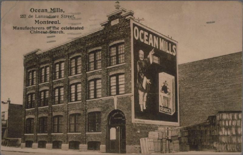 Ocean Mills, 257 de Lanaudiere Street, Montreal  Manufacturers of